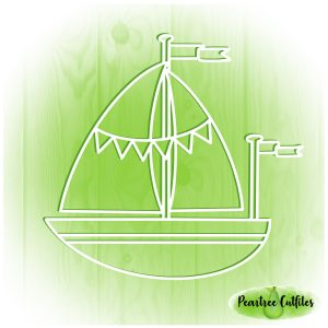 Ship with Bunting