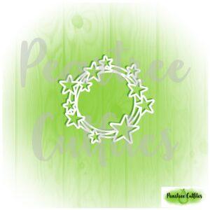 December Album Mini Star Wreath