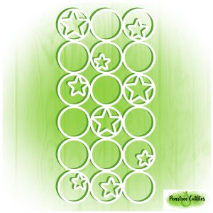 Stars in Circles