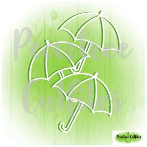 Falling Umbrellas