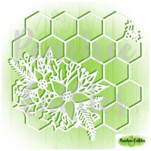 Hexagonal Christmas Grid