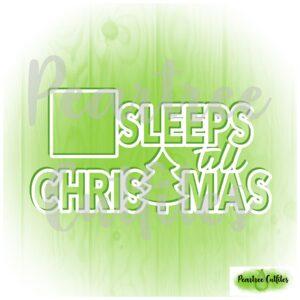 Sleeps Till Christmas