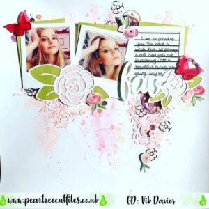 Floral Polaroid Frames