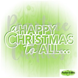 A Happy Christmas to All