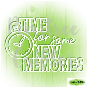 Time for Some New Memories