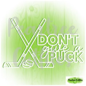 Don't Give a Puck