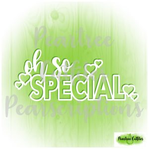 Oh So Special
