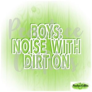 Boys Noise With Dirt On