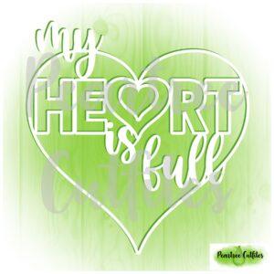 My Heart is Full