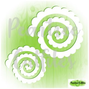 Rolled Flowers 1