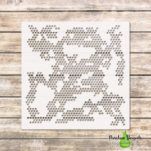 Completely Dotty Stencil
