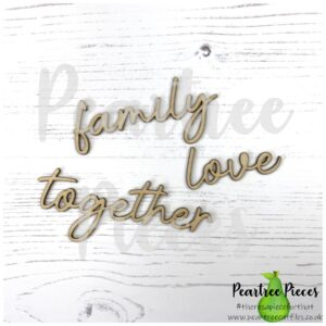 Scripty Words: Family