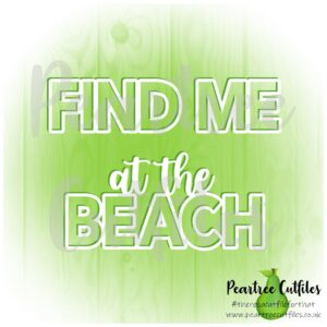 Find Me at the Beach
