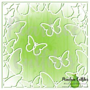Butterfly Border 2