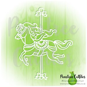 Princess Carousel Horse