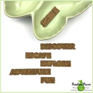Adventure words cork