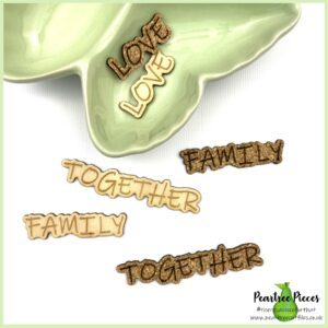 Cut out Words: Family