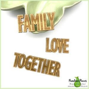 Etched Words: Family